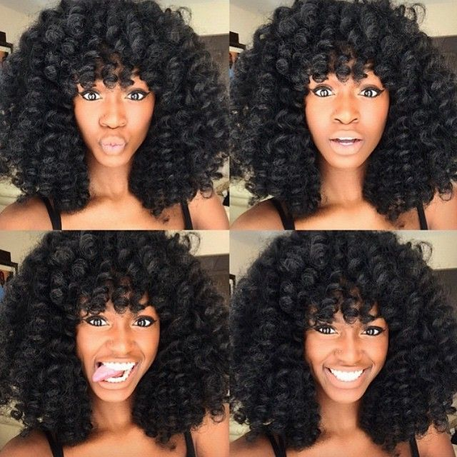 25 Transition Styles for Natural Hair - TGIN