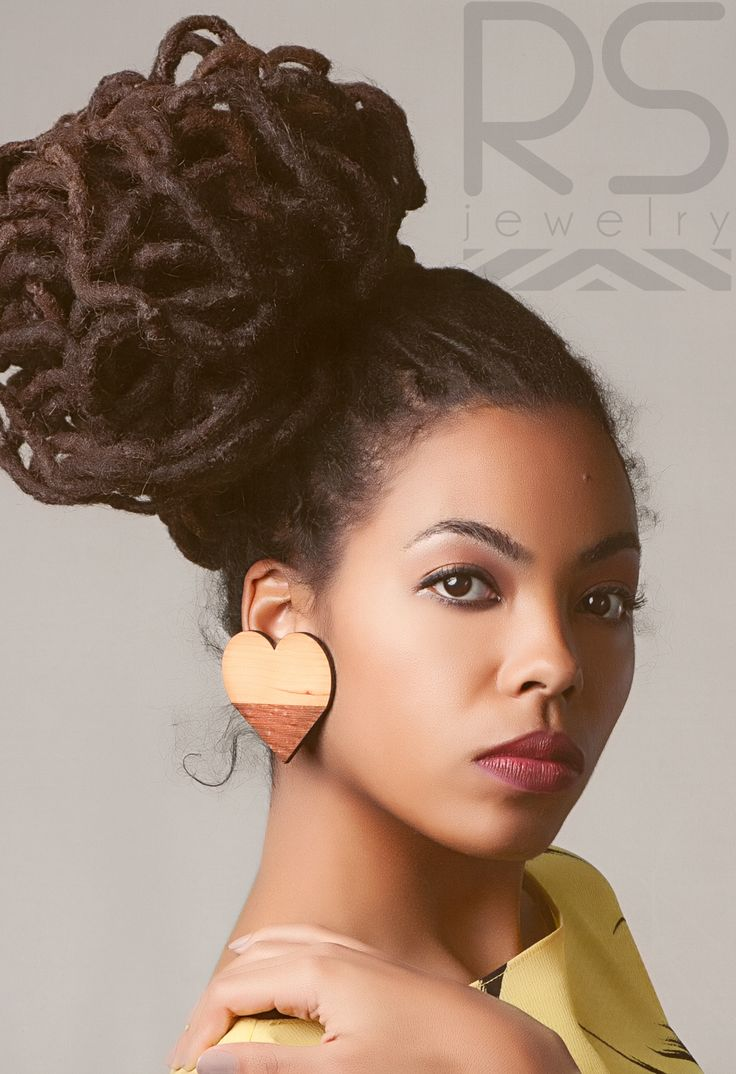 25 Updo Styles For Locs Tgin