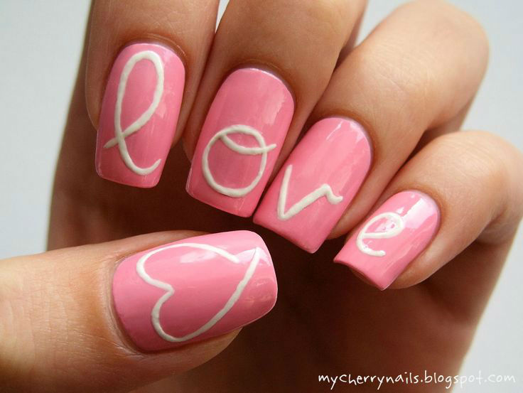 10 nail designs perfect for valentines day tgin valentine nail art design02 solutioingenieria Choice Image