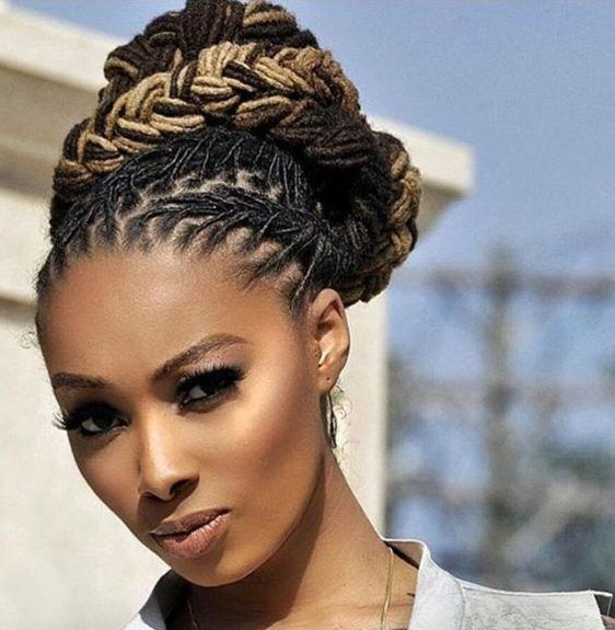 Beauty 10 Amazing Dreadlocks Styles For The Office Photos