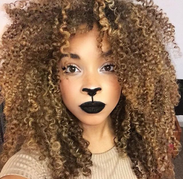 Natural Halloween Decorations: 10 Super Last Minute Natural Hair Halloween Costumes