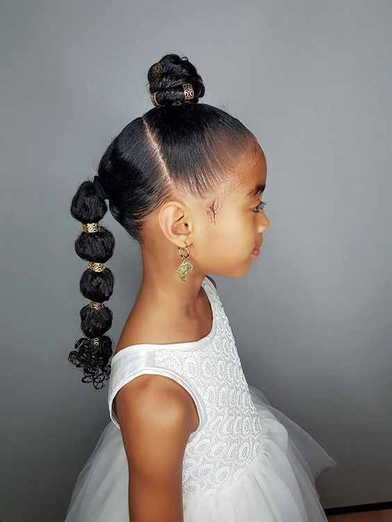 10 Heat Free Kids Natural Hairstyles for Easter   TGIN