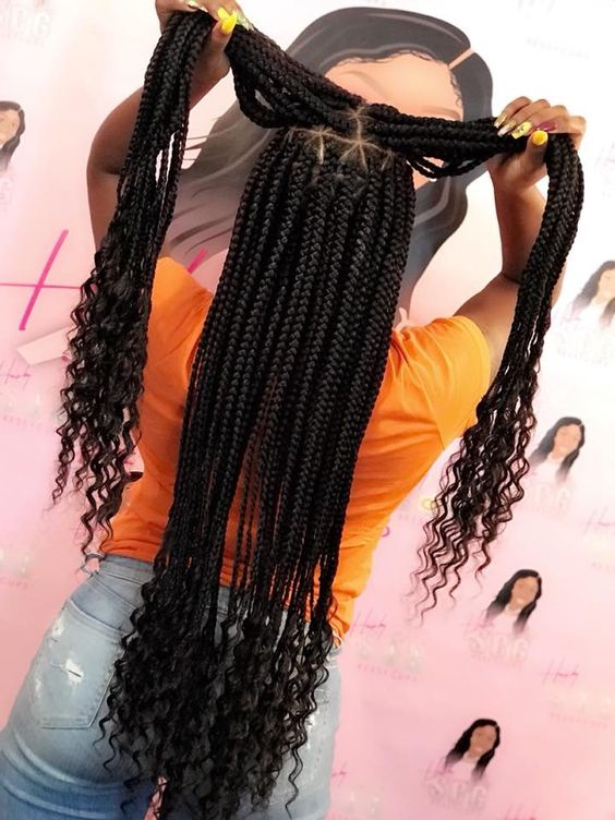 Natural Hair Trend Alert Goddess Box Braids , TGIN