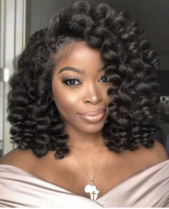 10 Heat Free Natural Hairstyles For Easter